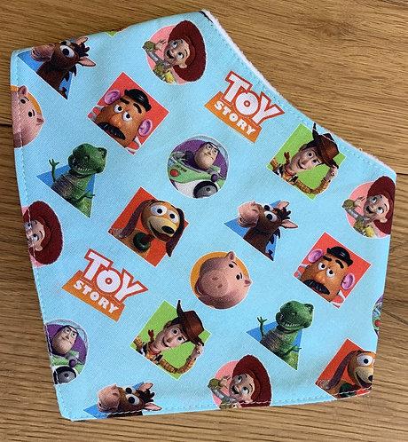 Toy Story Bandana bib x1