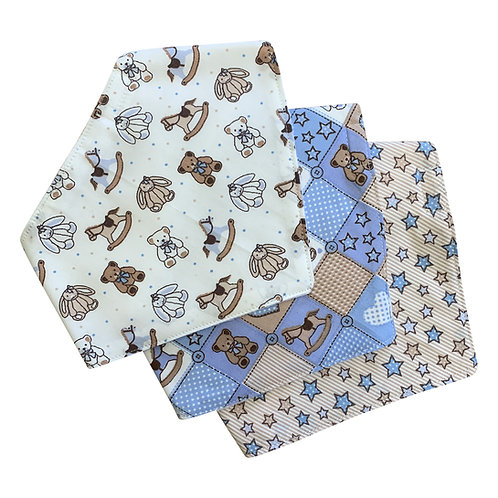 Bandana Bibs (sets of 3)