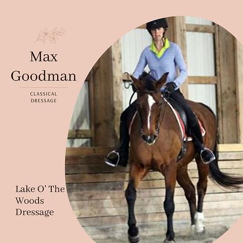 Max Goodman Video Review