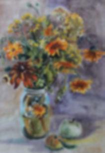 Цветы и пейзажи Екатерина Гуляева