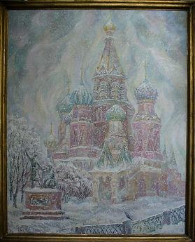 """Я краски миру дам...""""  Виктор Постников,выставка"""