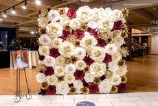 Custom 8'x8' Full flower wall