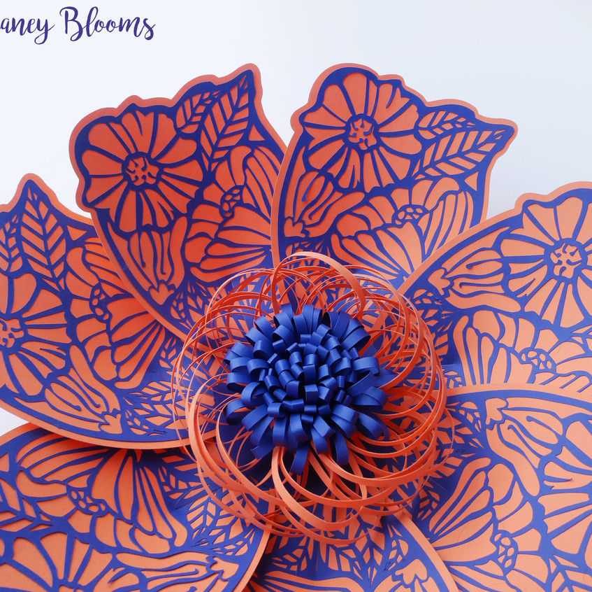 Deaney Weaney Blooms New Paper Flower Template