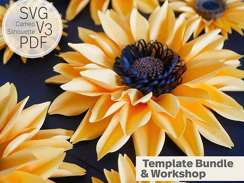 Nikki Paper Sunflower Workshop