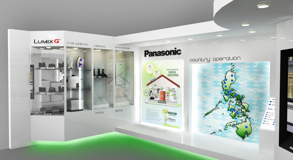 Panasonic Philippines's showroom