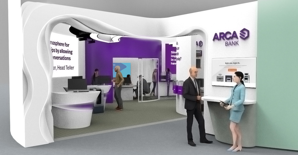 Conceptual design for ARCA's Demo Center