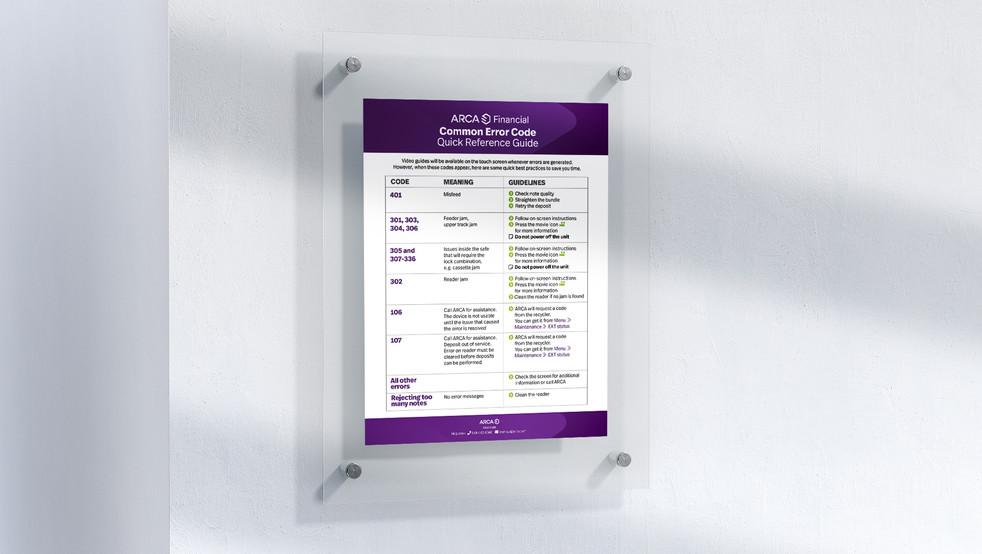 Service Info card