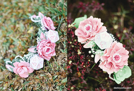Maid of honor and bridesmaid hair accesssories