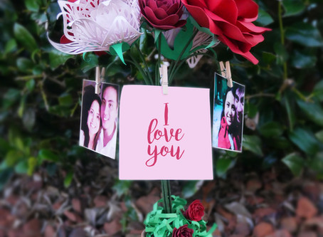 Paper Flower Project: Multi functional decor