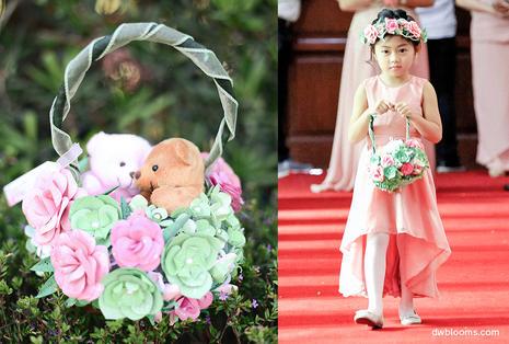 Flowergirl baskets