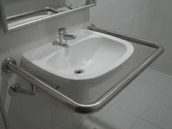 barra de apoio para lavatorio
