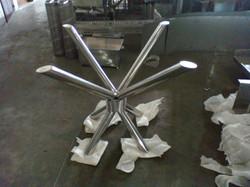 Suporte de mesa de vidro
