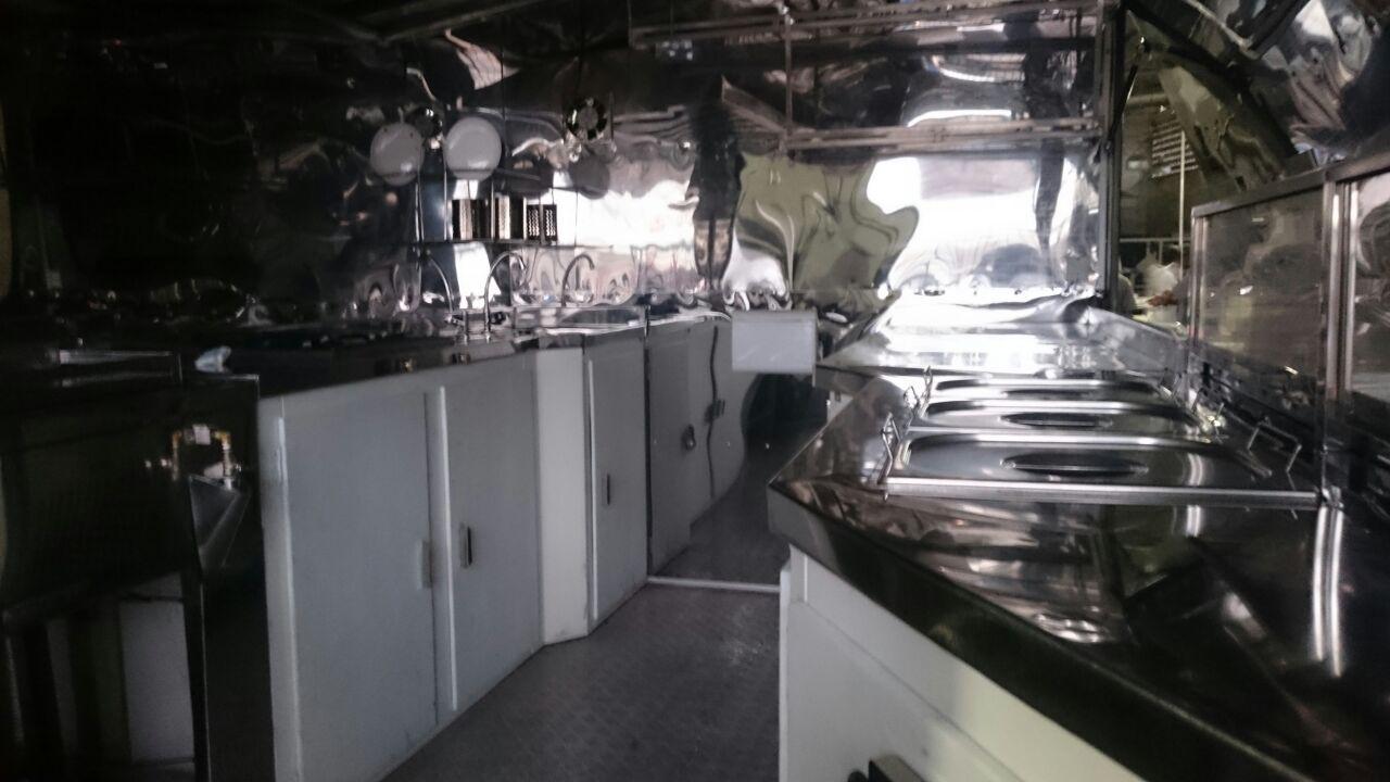 Cozinhas e estrutura de Food Truck