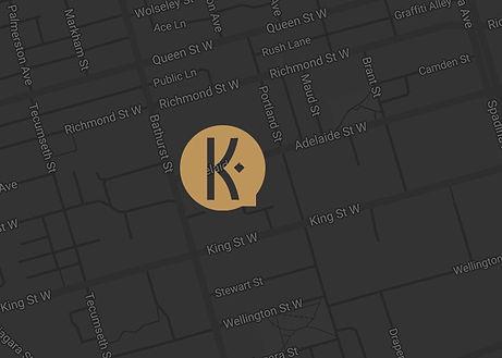 Kingly condo Map