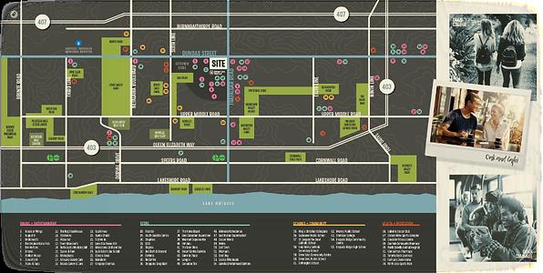 Oak&Co map