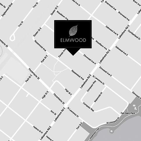 Elmwood Homes map - Cityview