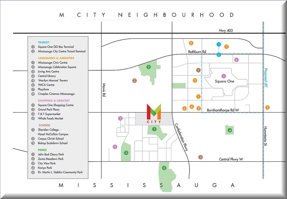 M City Location