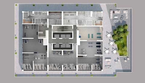 Social Condos plan - cityview