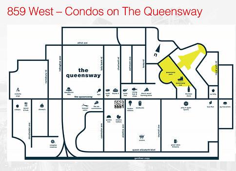 859 West Condos map
