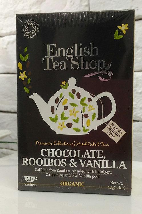 ETS Chocolate, Rooibos & Vanilla