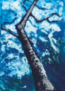 monotype of tree