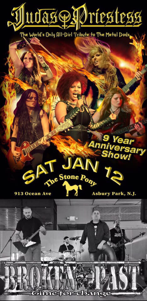 Jan 12 Stone Pony asbury park nj