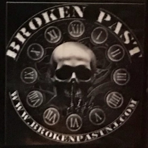 Broken Past sticker