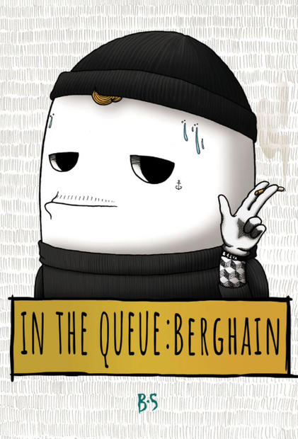 In the Queue: Berghain