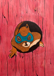 THE MASKED SQUIRREL