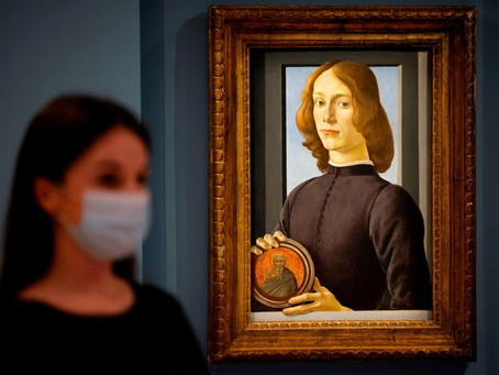 Kunstwerke in Bewegung - Botticelli zieht um!