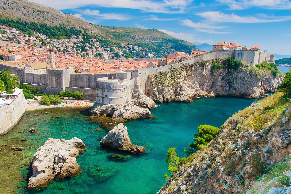 Dubrovnik-in-Croatia-Scenic-view-on-city