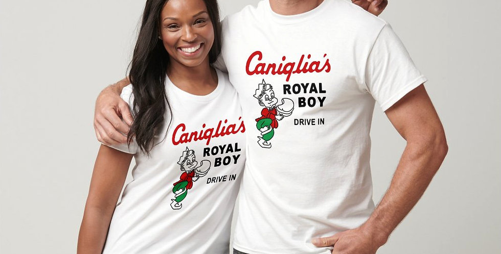 Caniglia's Royal Boy Drive-in Nostalgia T-Shirt PRICE INCLUDES SHIPPING