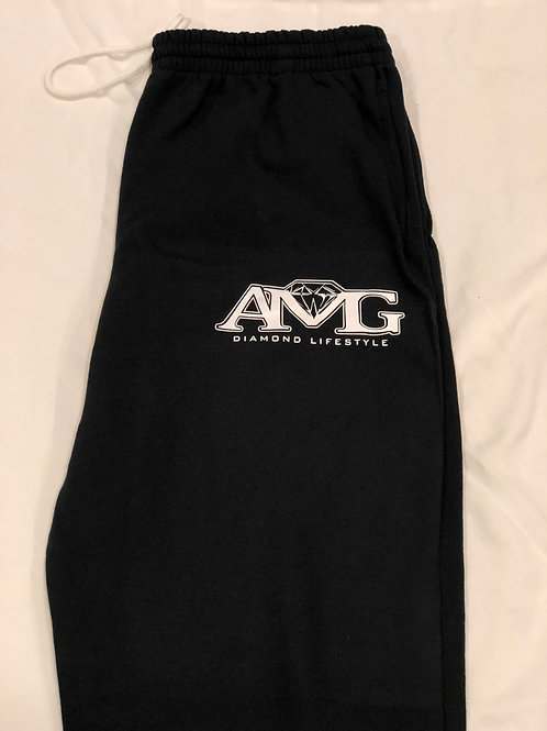 AMG (Black & White) Sweat Pants
