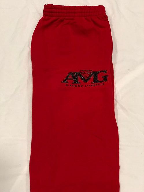 AMG (Red & Black) Sweat Pants