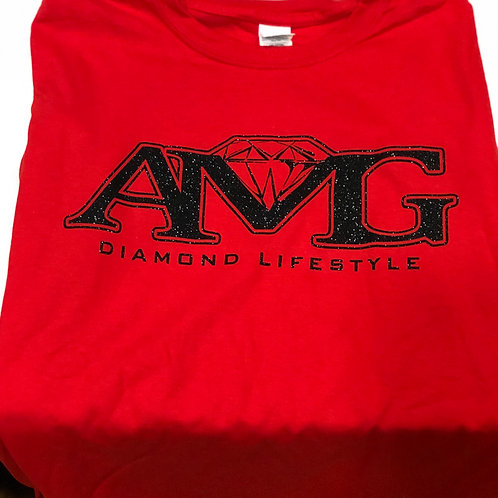 AMG (Red & Black) T-Shirt