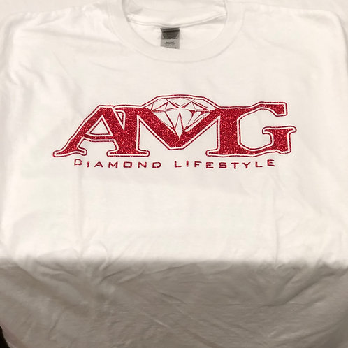 AMG (Red & White) T-Shirt