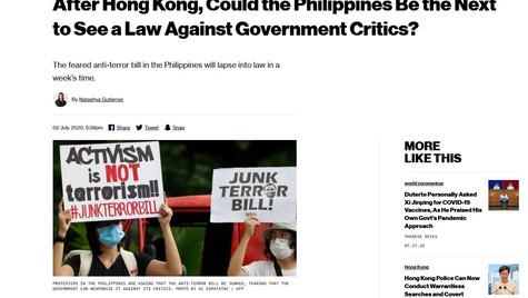 Activism is not Terrorism