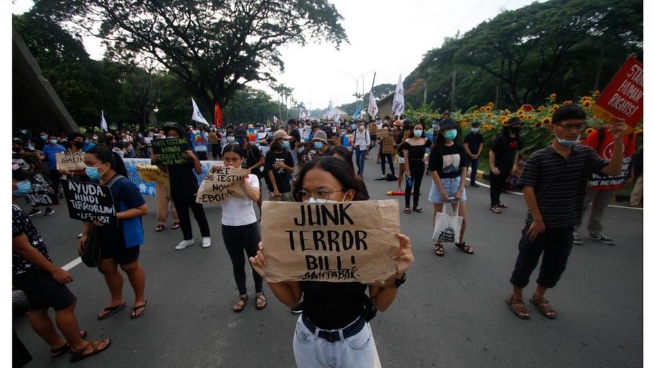 Anti Terror Law Signed