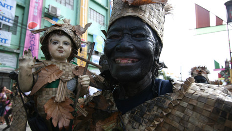 Ati-atihan festival Kalibo Aklan