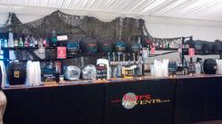 Military bar set up