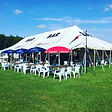 Bars 4 Events Outdoor Marquee Bar set up