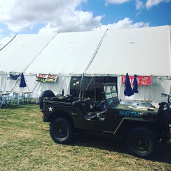 Military Beer tent