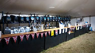 Outside bar hire for marquees
