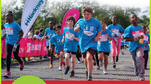 Vitality Run Hackney Half-Marathon and Kate Percy's Schools' Programme
