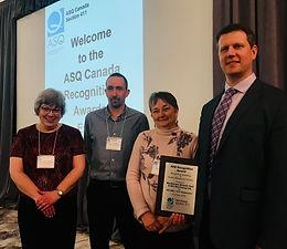 MacKenzie Atlantic receives Premier's Quality Award