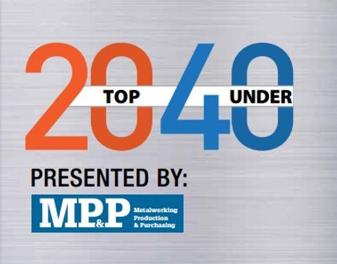 Matthew MacKenzie to accept Top 20 Under 40 award