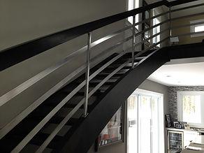custom stair railings dartmouth, custom stairs nova scotia, custom metal fabrication dartmouth