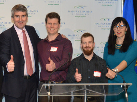 Matthew MacKenzie receives kudos at Premier's State of the Province Address