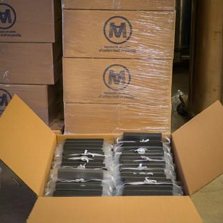 MacKenzie Atlantic face shields ready to go