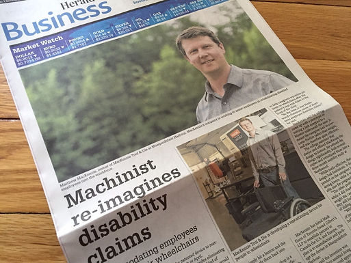 Possible game changer? Machinist re-imagines disability claims